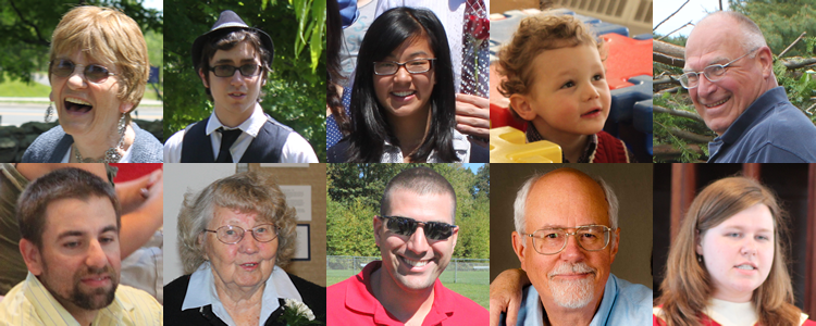 Faces of Storrs Congregational