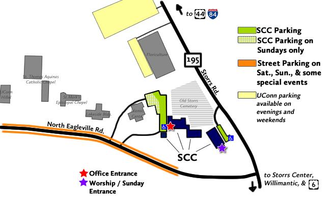 SCC Parking Map