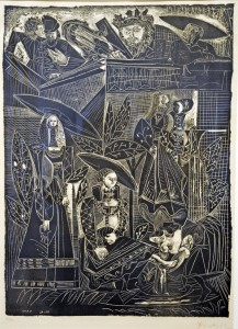 "Pablo Picasso, ""David and Bathsheba (After Lucas Cranach),"" 1949"