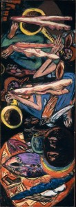 """The Tempest"", painting by Max Beckmann, 1947-49"