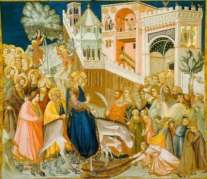 Entry Into Jerusalem, Pietro Lorenzetti, 1320